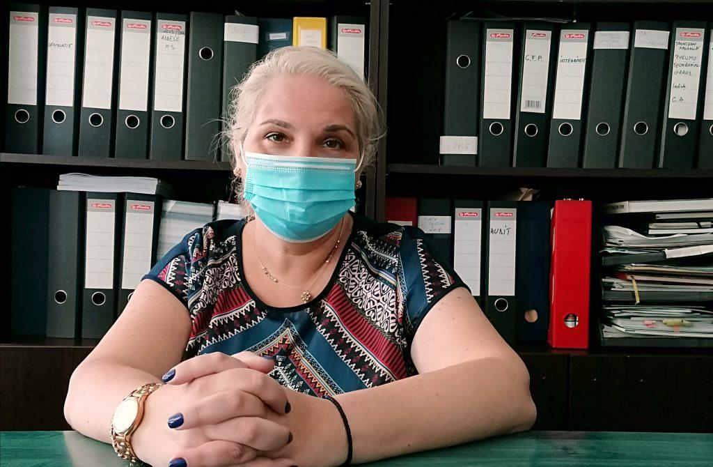 Cristina Schipor, directorul DSP Constanța. Foto: Alexandra VASILE