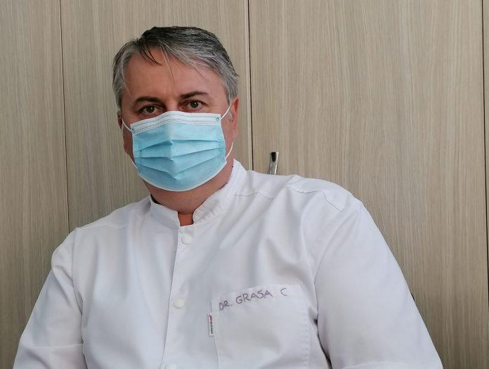 Dr. Cătălin Nicolae Grasa, managerul SCJU din Constanța . Foto: Alexandra VASILE