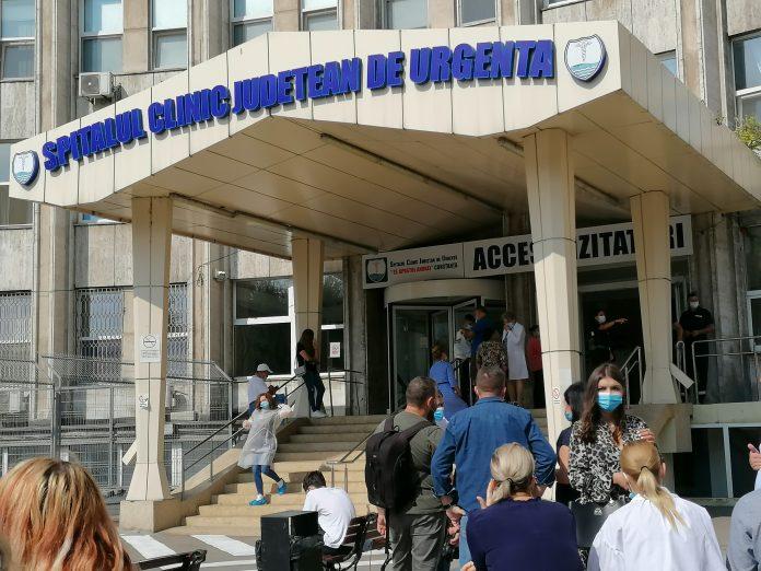 Spitalul Clinic Judeţean de Urgenţă Constanţa. FOTO Alexandra VASILE
