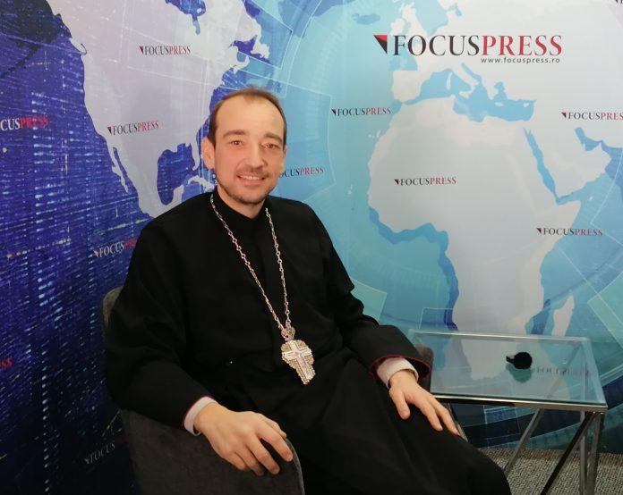 Preotul Claudiu Banu, parohul Bisericii