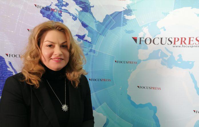 Anamaria Ciobotaru, directorul Colegiului Național Pedagogic din Constanța. FOTO Alexandra VASILE